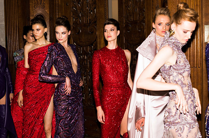 Code8 At Nicolas Jebran's Haute Couture Debut in Paris