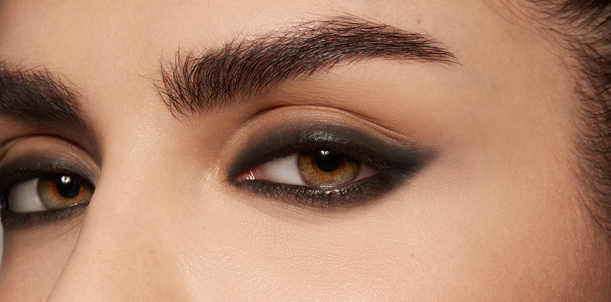 Close Up Home Dyed Eyebrows