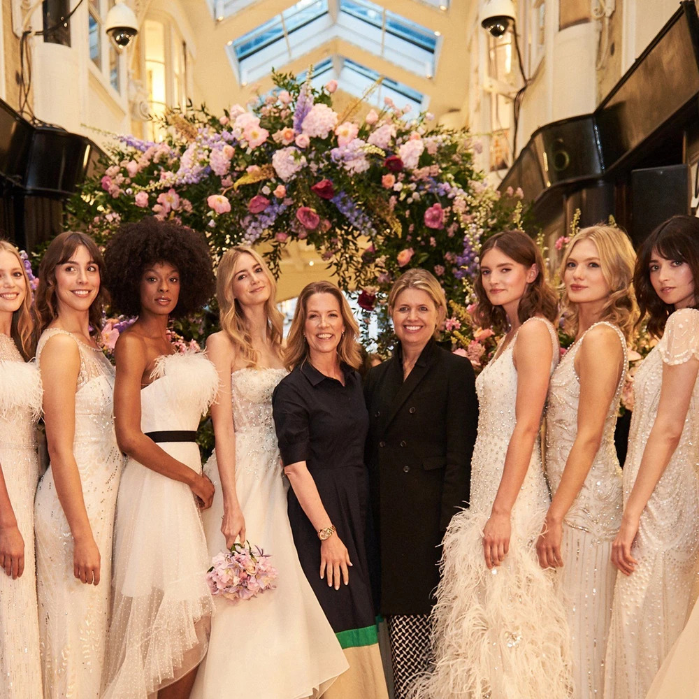 Dewy Bridal Looks at Jenny Packham's 2020 Show