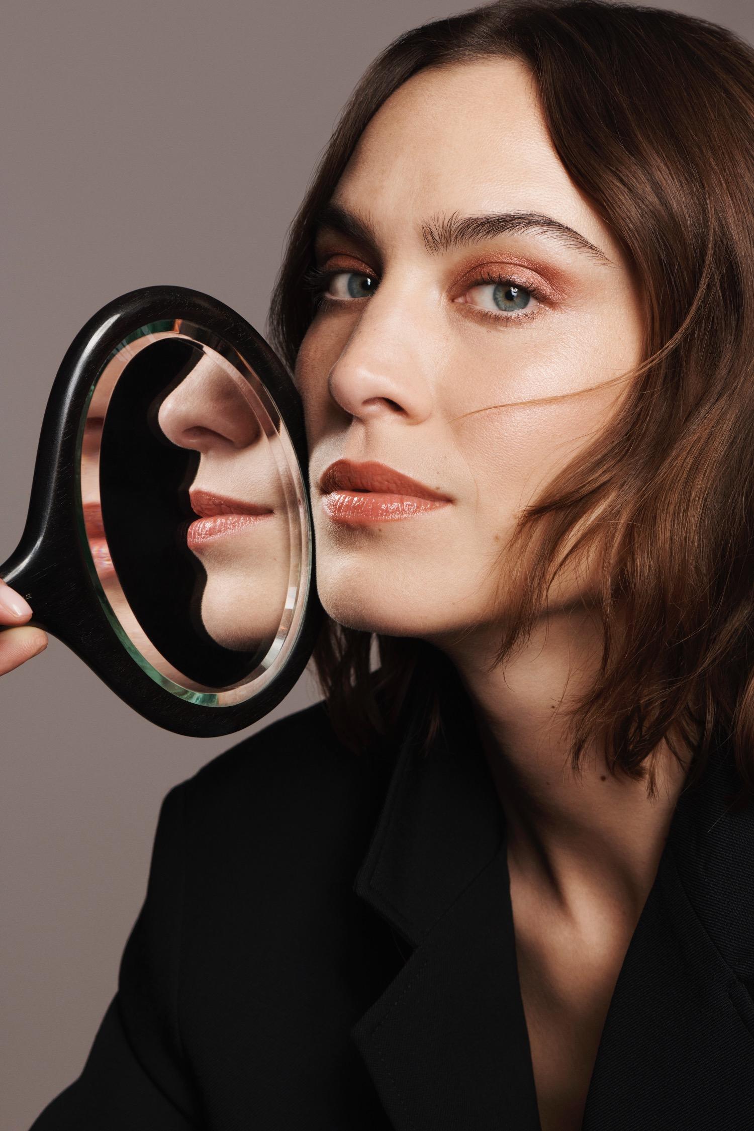 Alexa Chung Wears Code 8 Makeup