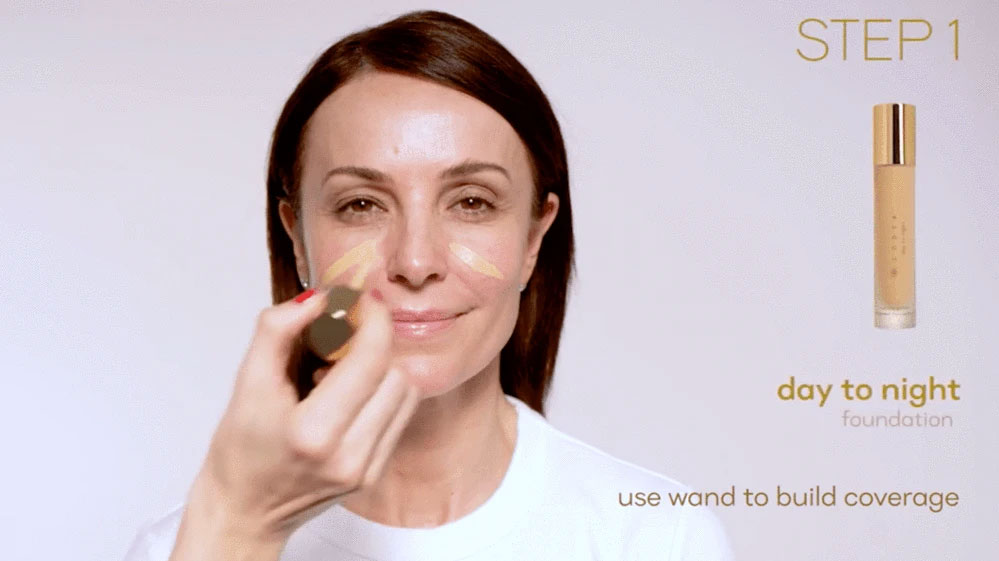How to Apply Code8 Day to Night Foundation and Look Polished