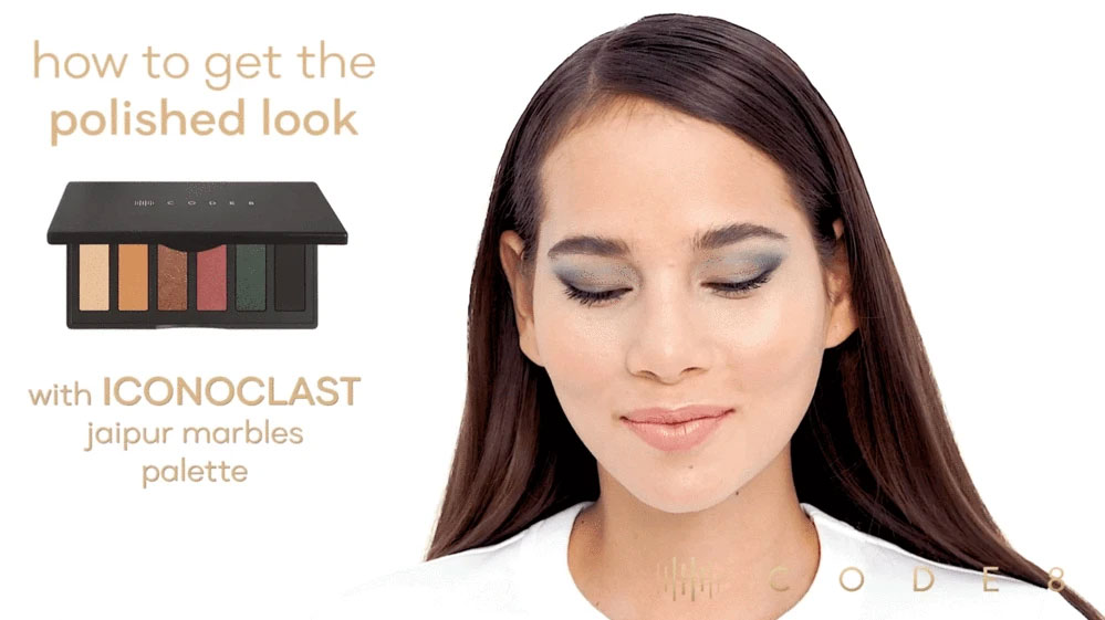 How to Get a Polished Look using Code8 Iconoclast Jaipur Marbles Palette