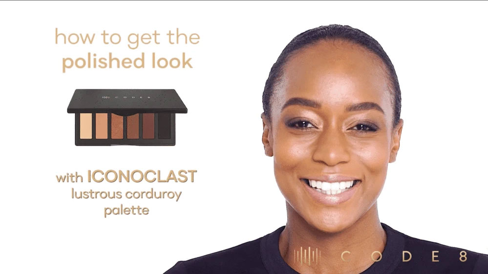 How to get a Polished Look using Code8 Iconoclast Lustrous Corduroy Palette