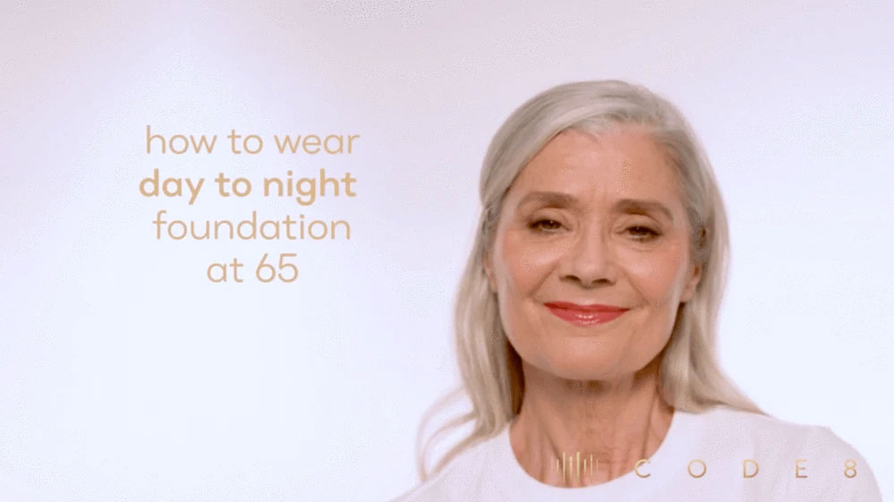 How to Wear Day to Night Foundation at 65