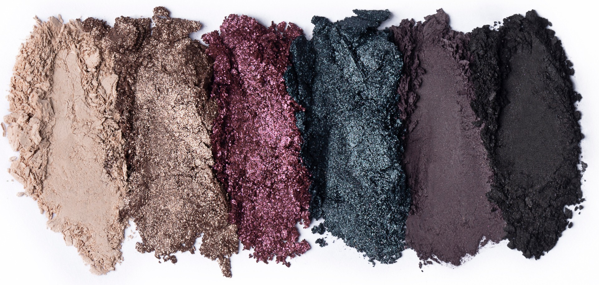 Eyeshadow Swatches - Suitable For Beginners