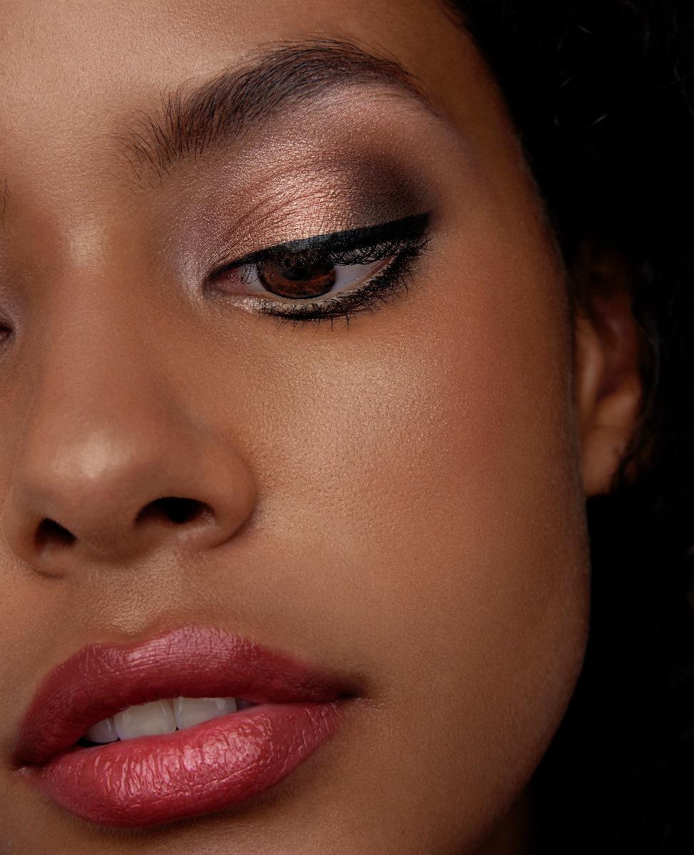 Eye Makeup Look on Brown Eyes