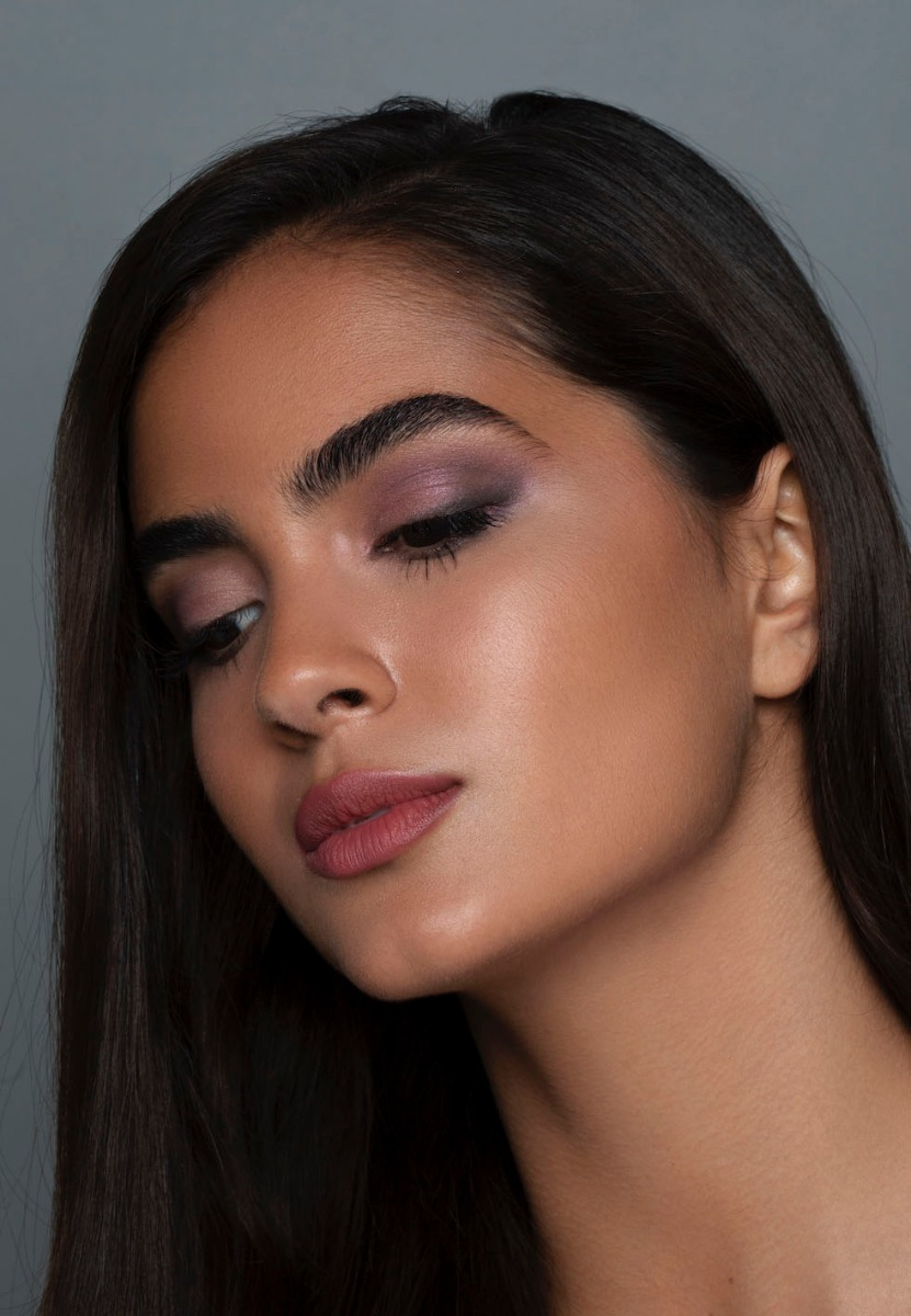 Flawless Foundation Application on Model