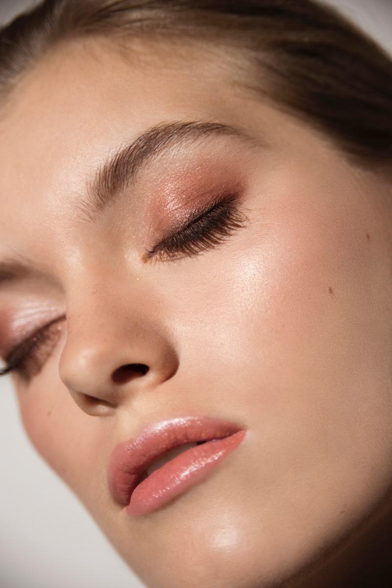 Woman Wearing SPF & Makeup