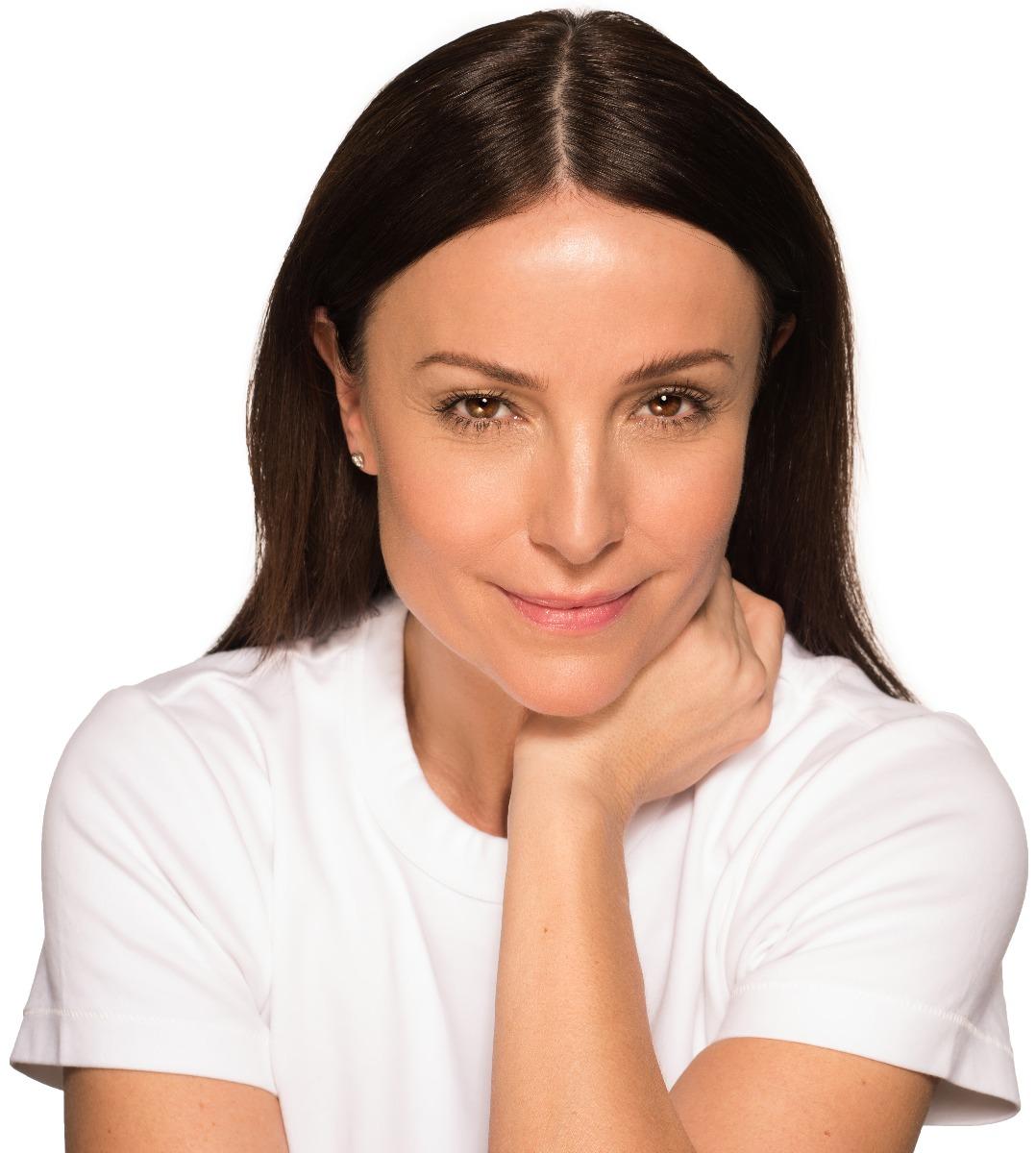 Mature Makeup Application on Model
