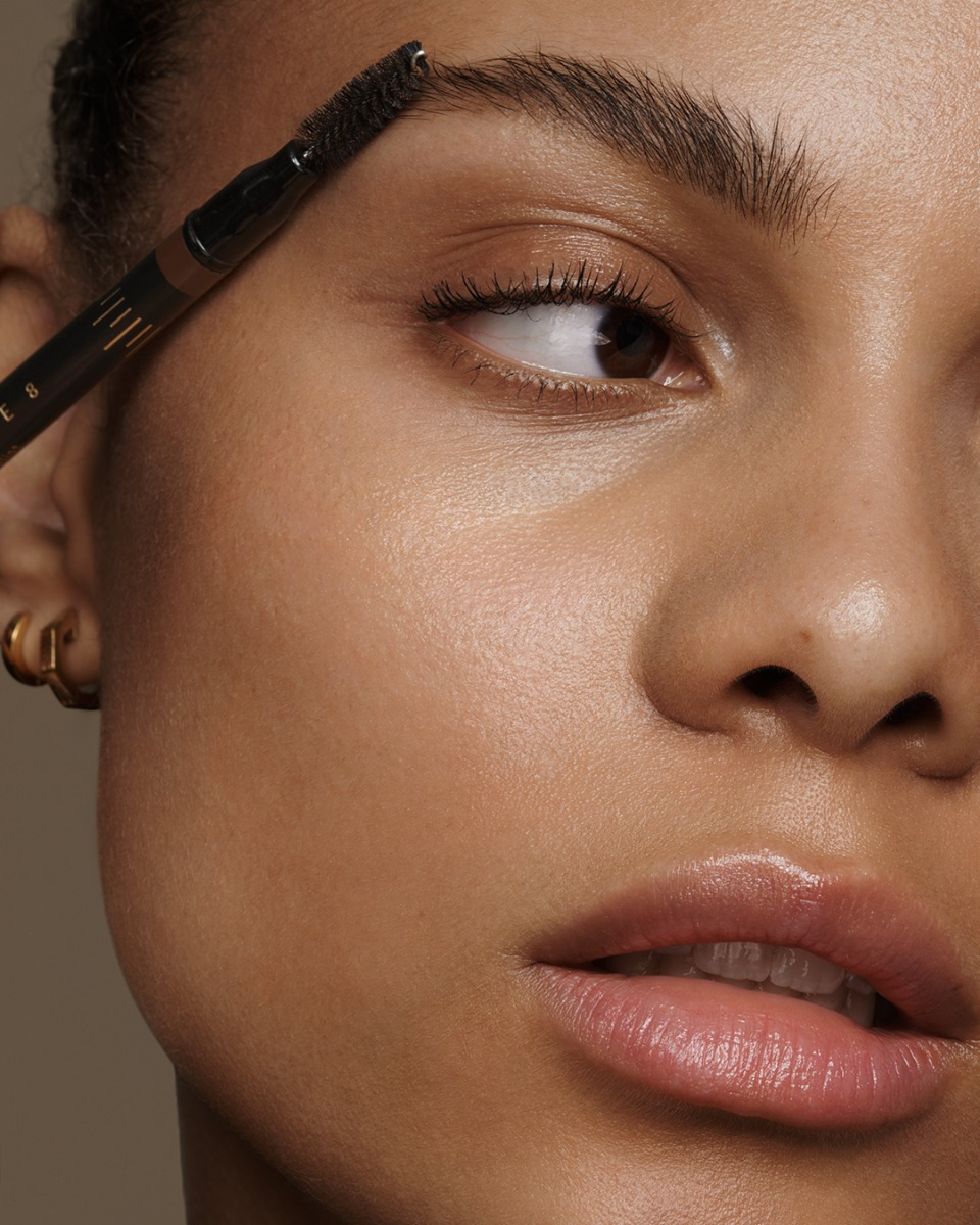 Brow Pencil Being Applied