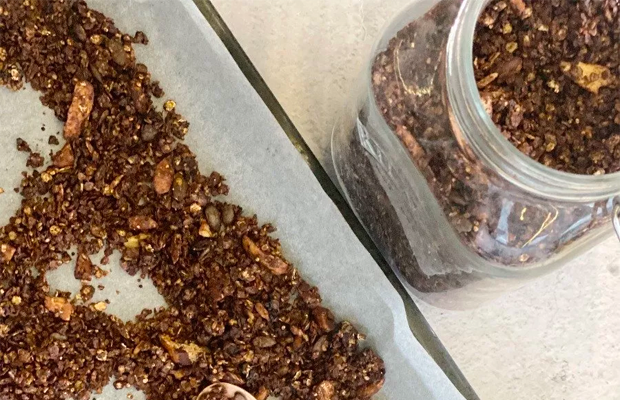 Healthy Granola for Glowing Skin