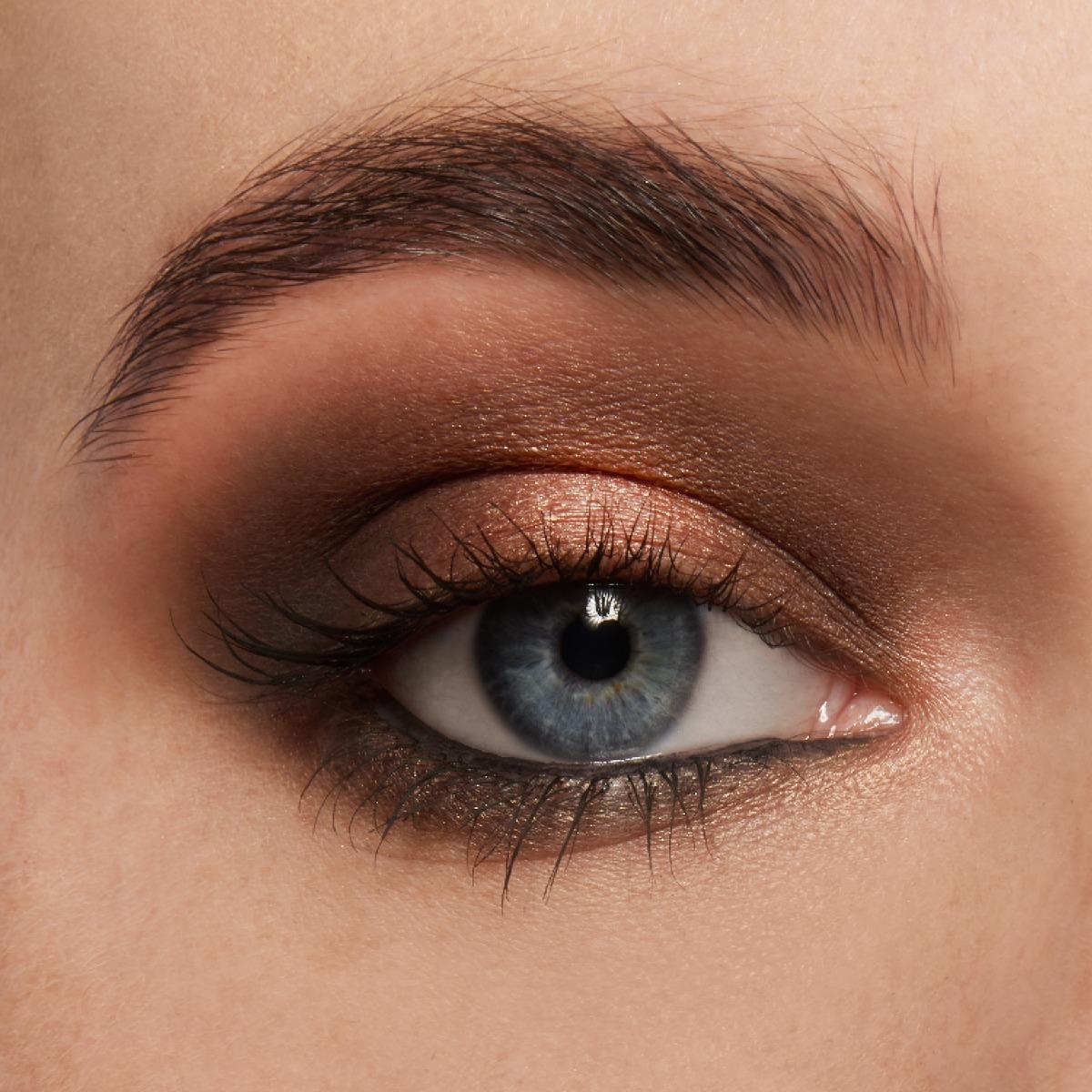 Round Eye Makeup Look