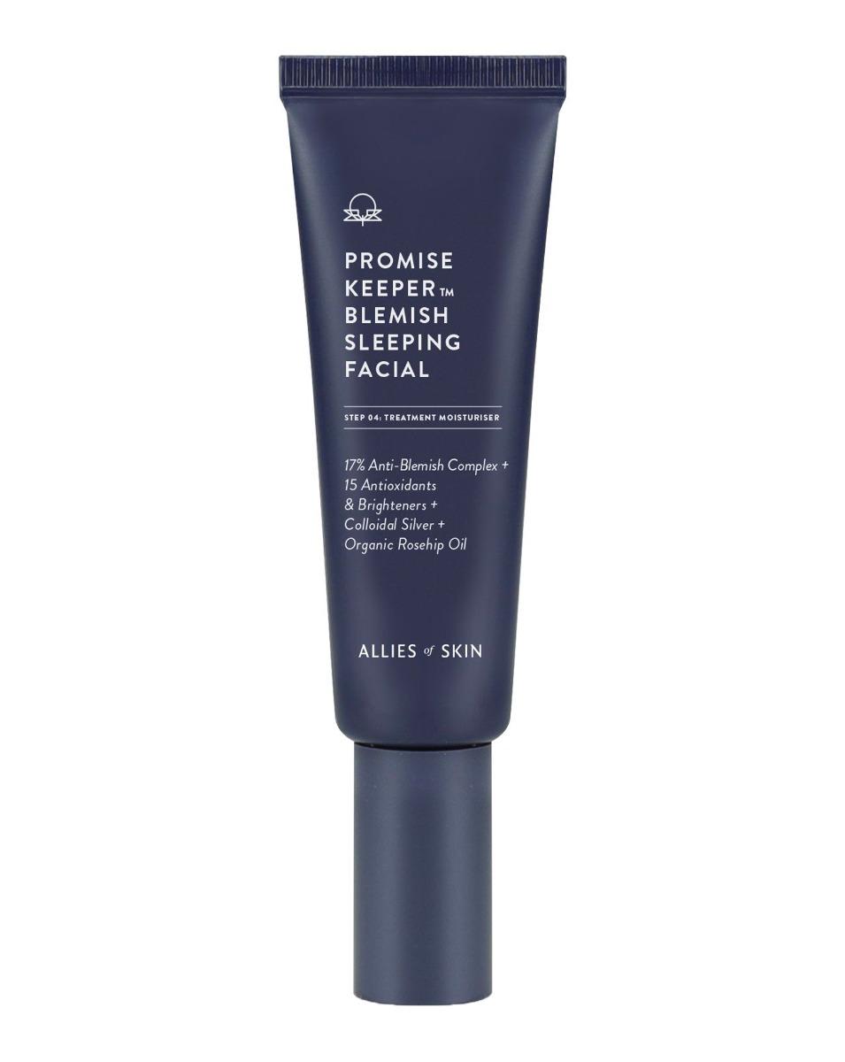 At Home Facial Treatment