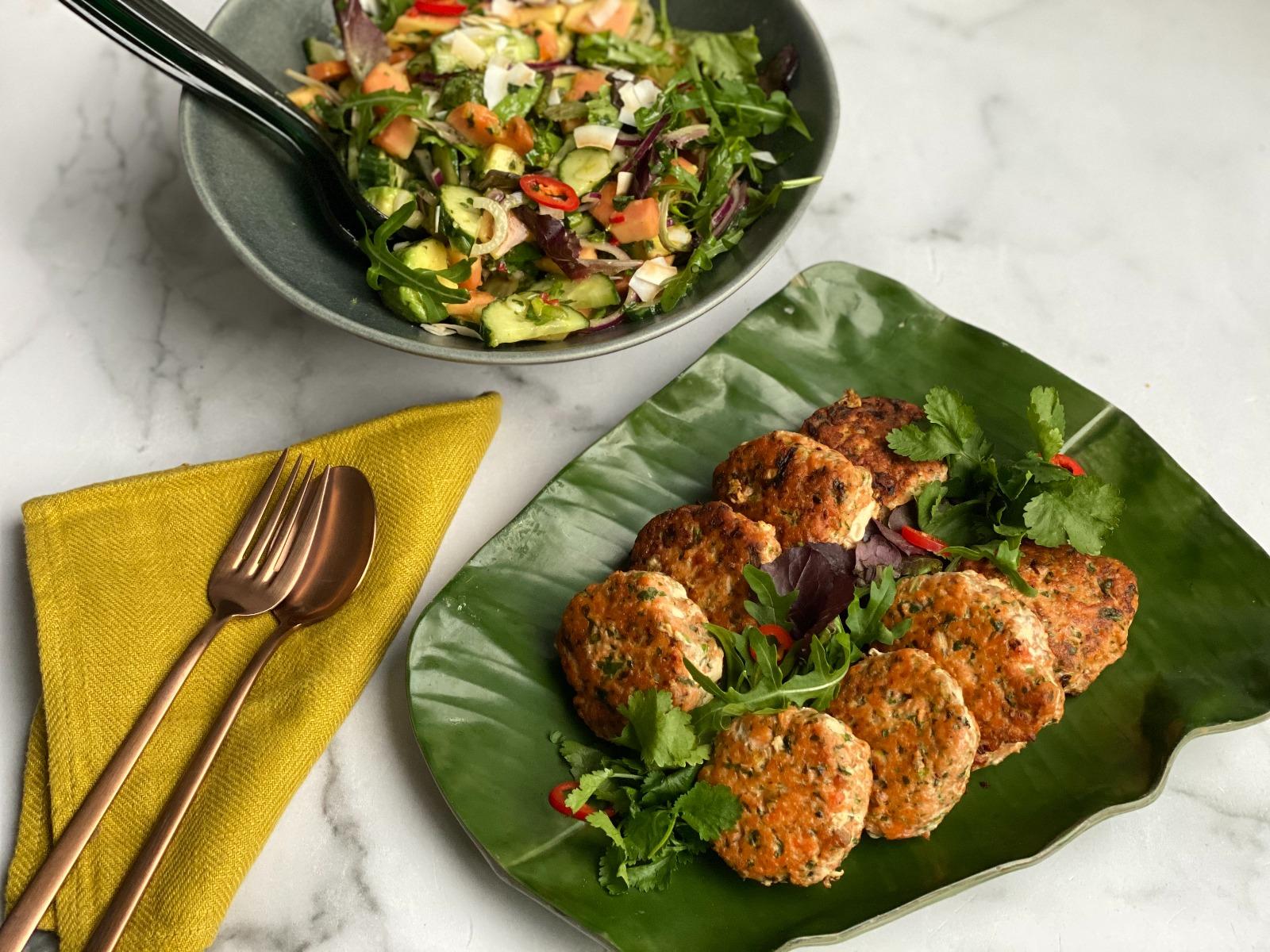 Salmon_Patties_with_Papaya_Salad