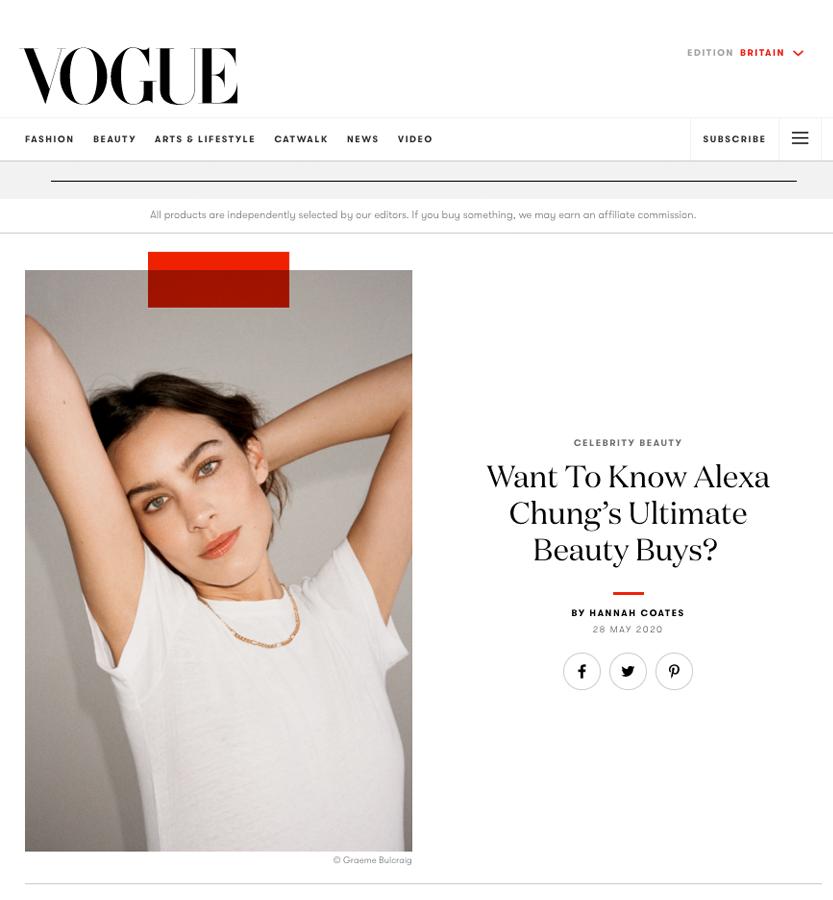 Code8 in Vogue