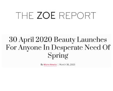 Code8 in The Zoe Report