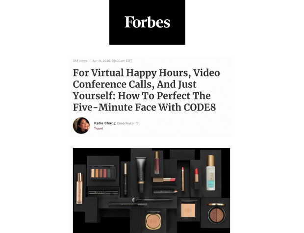 Code8 in Forbes