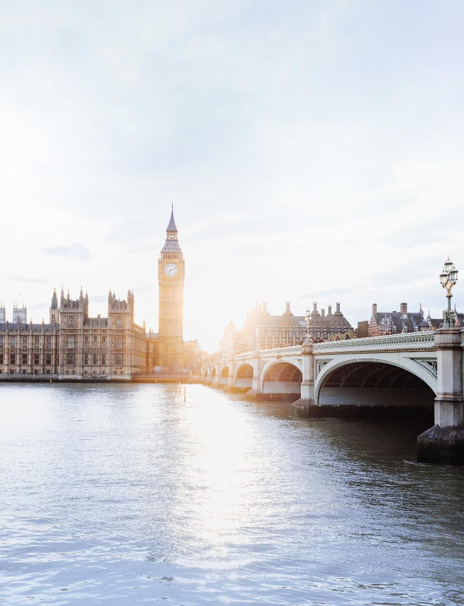 Sunlight in London