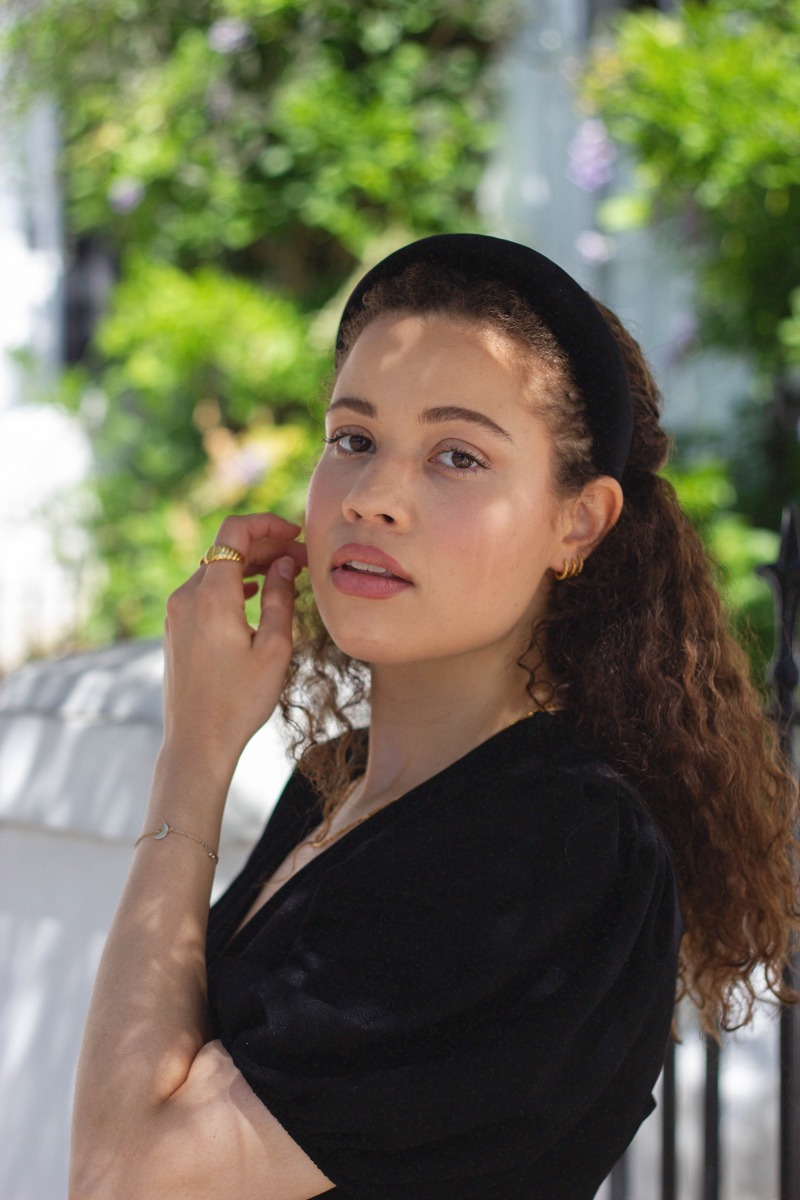 Eboni Ivory X Code8 Makeup look