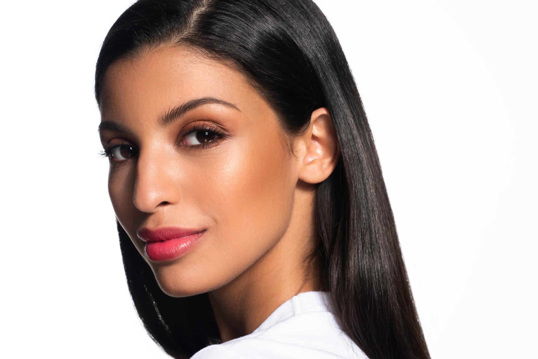 Makeup Look on Dry Skin