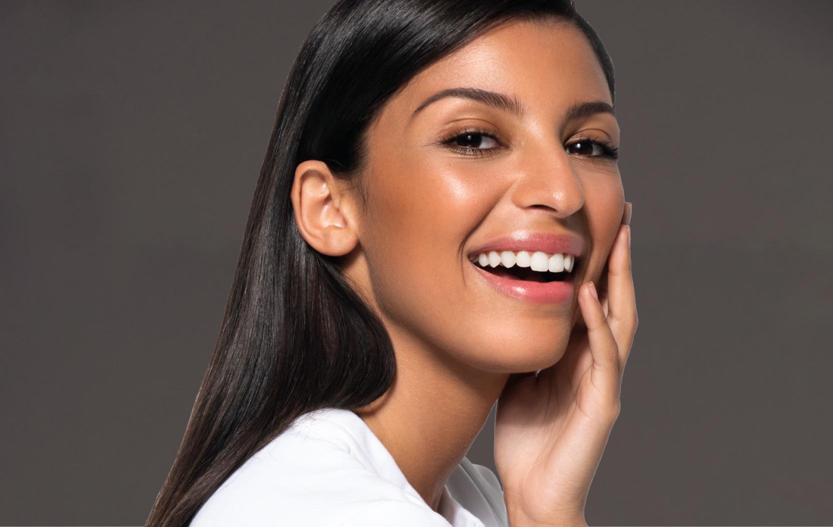 Woman after Facial