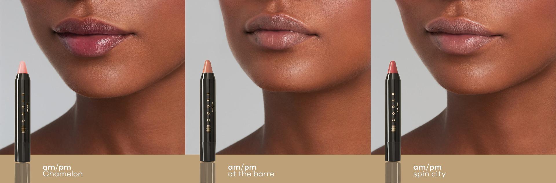 AM/PM Lip Balms With Vitamin E