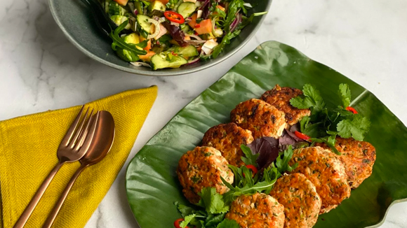 Nutritious Salmon Patties for Glowing Skin