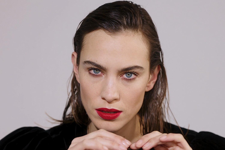 Alexa Wearing Stocking Filler Makeup