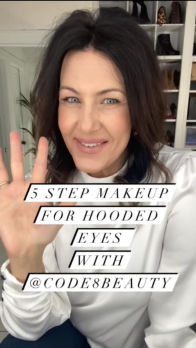 5 Step Makeup for Hooded Eyes