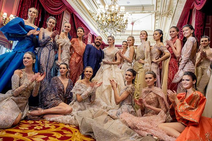Haute Couture Fashion Week SS20: Ziad Nakad x Code8