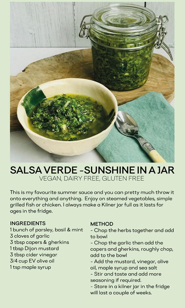 Nicky's Salsa Verde