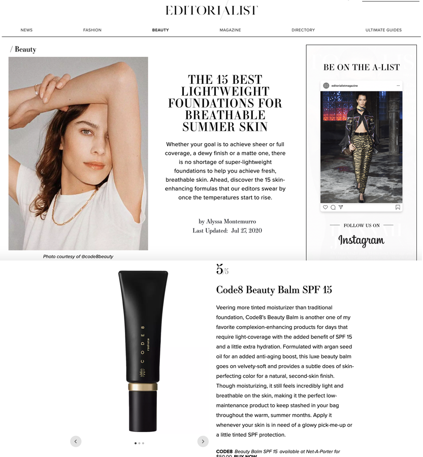 Code8 on The Editorialist
