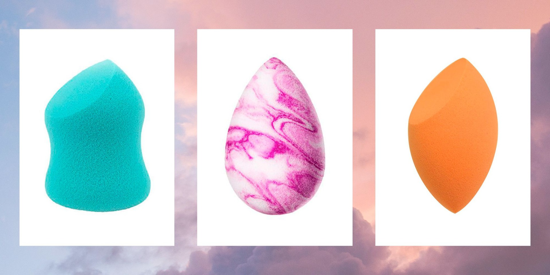 Beauty Blenders for Foundation Application